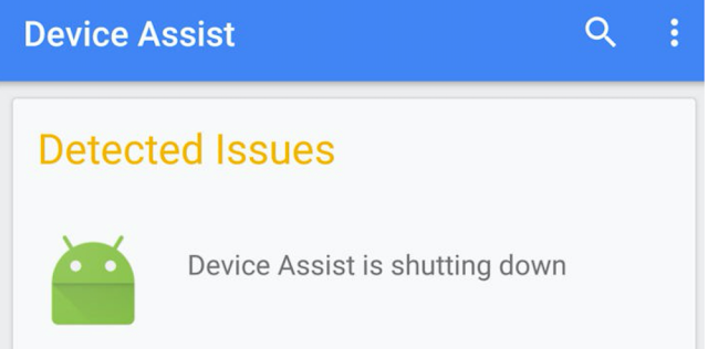Aplikasi Device Assist