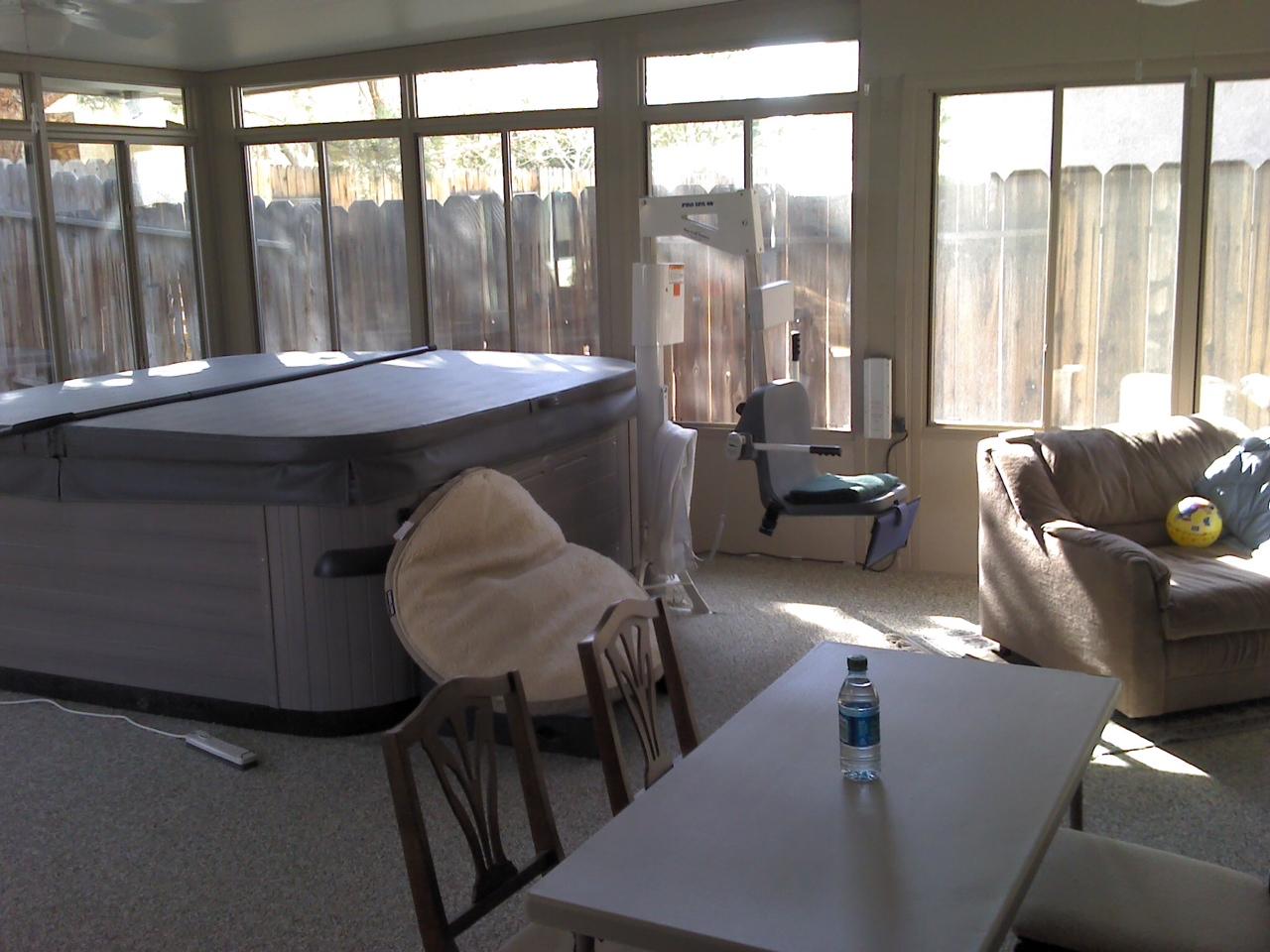 Lapham Construction Sunroom In Ridgecrest California
