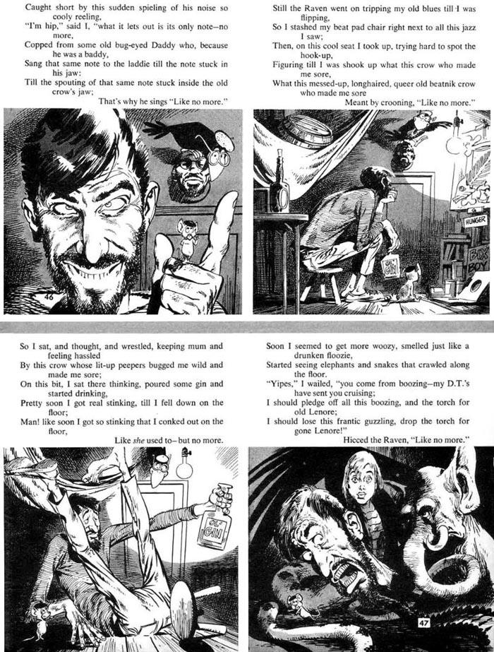 Professor H's Wayback Machine: Poe 1960, Pt  1