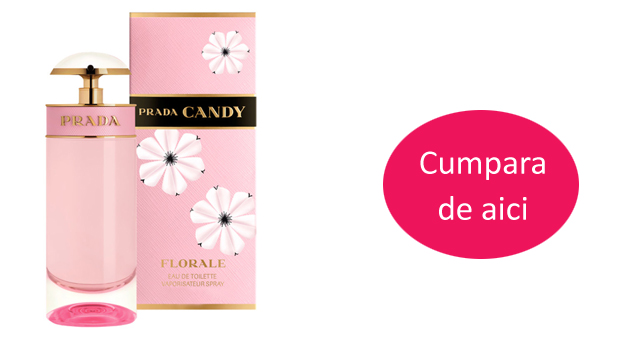 Parfum femei Prada Candy florale, 50 ml -34% reducere