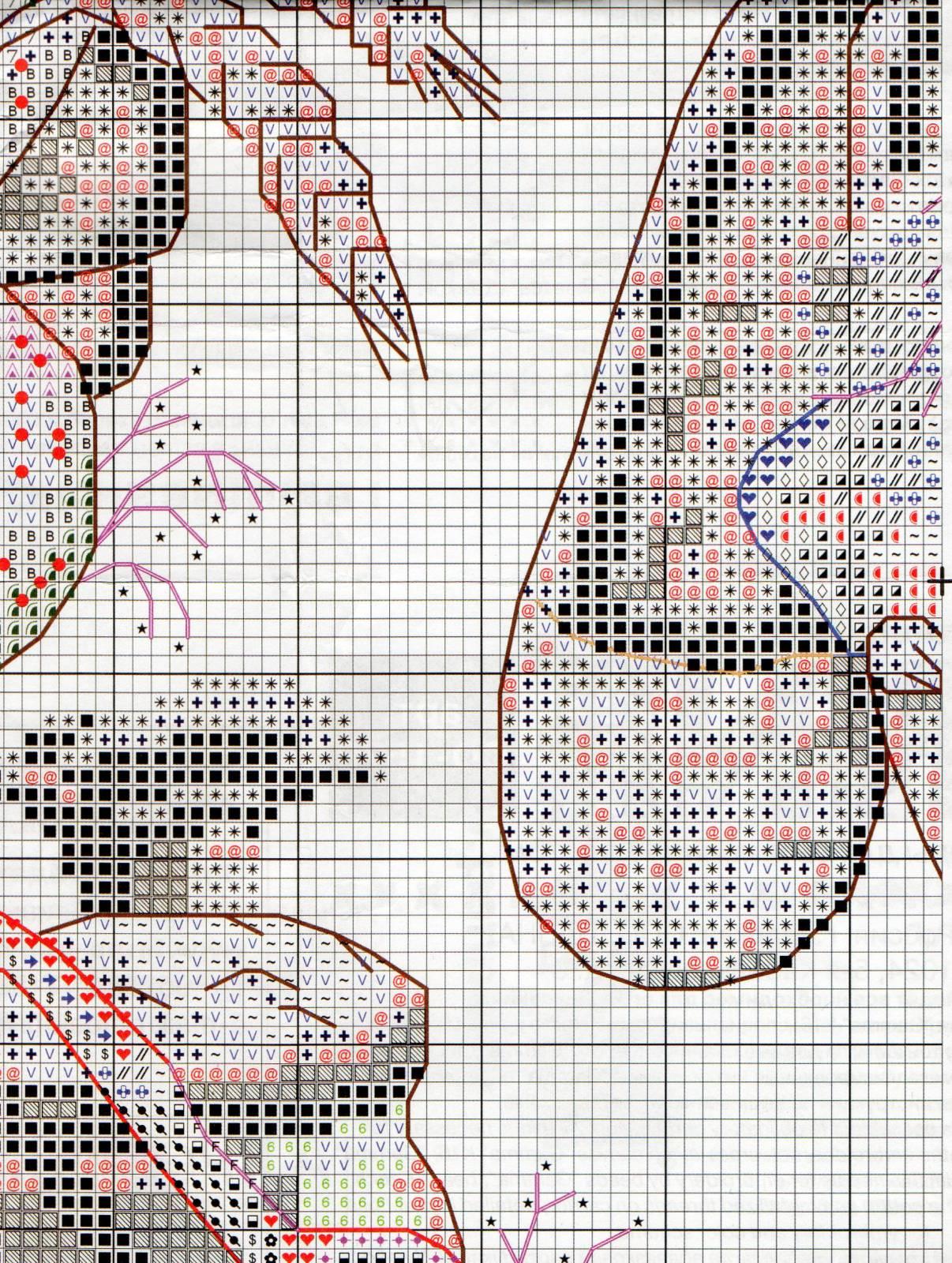 Венок изобилия. Схемы вышивки (9)
