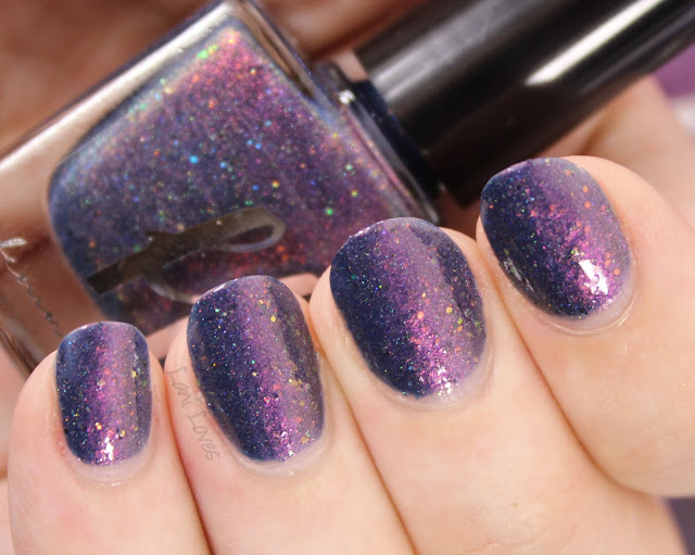Femme Fatale Cosmetics Helping Hands Nail Polish Swatches & Review
