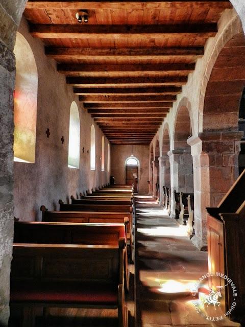 ALTENSTADT (67) - Eglise Saint-Ulrich (XIe-XIVe siècles) (Intérieur)