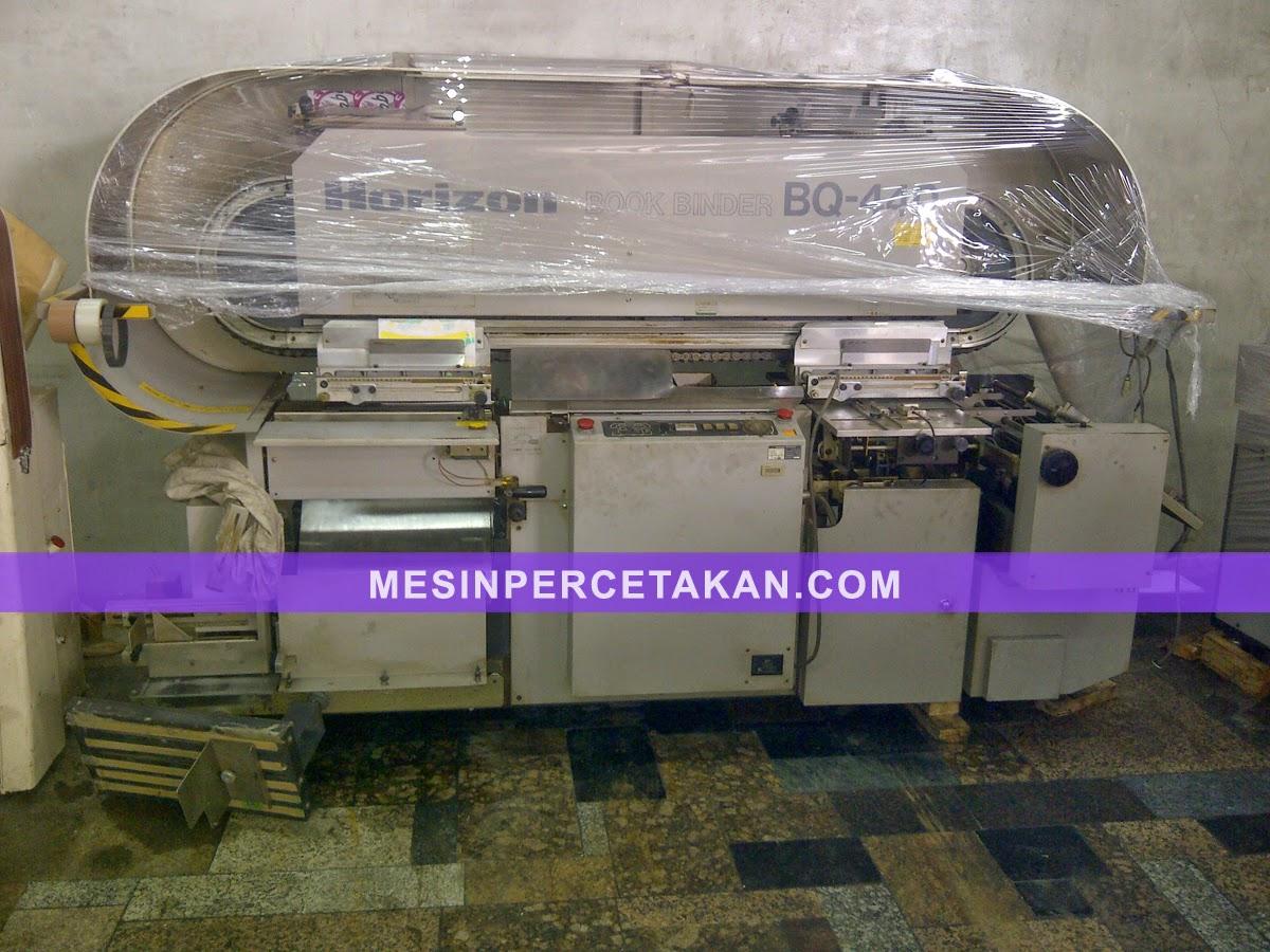 Mesin Lem Panas   Horizon BQ 440   4 mata (clamps)