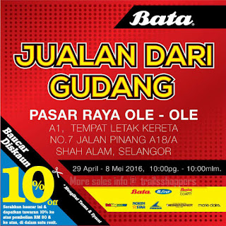 Bata Warehouse Sales