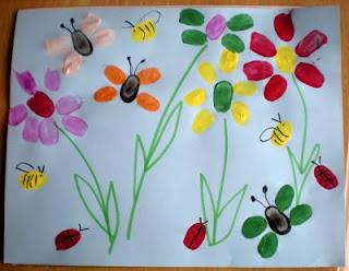 Mothers Day Lightening Bug Craft