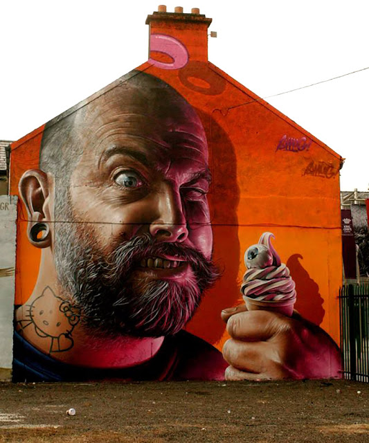 Street Art By Smug One In Ireland - Most Popular Mural Of August 2013