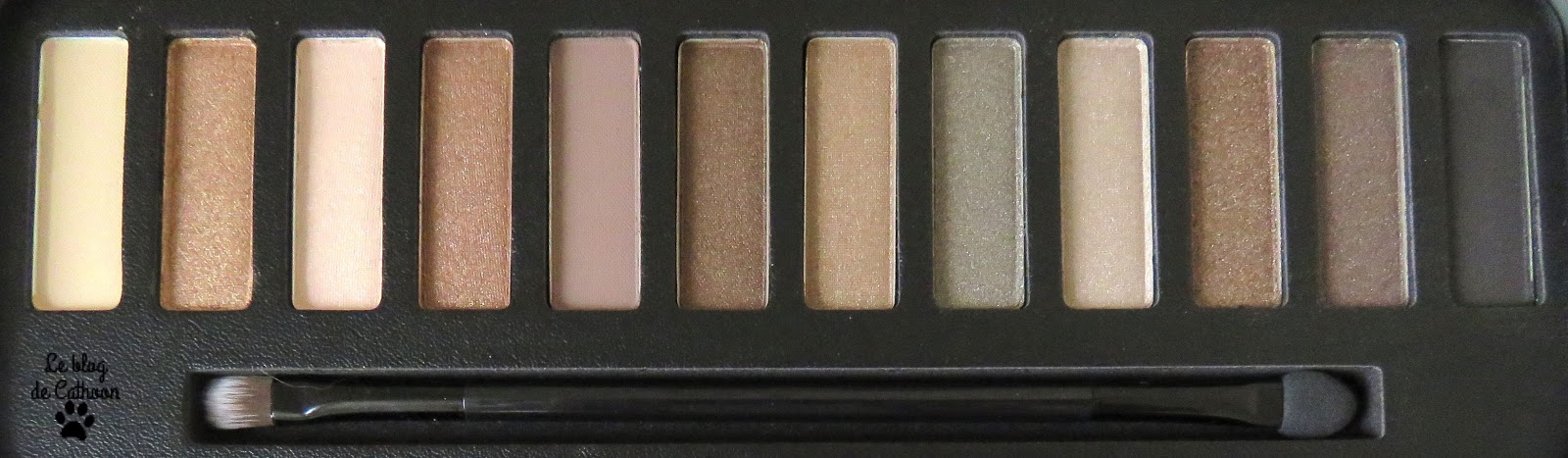 Color Me Buff - Natural Nudes - Eyes Color Palette - W7