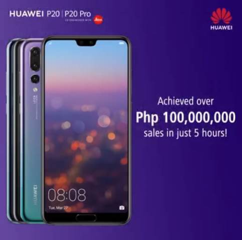 Huawei P20 Series Now Official in the Philippines!; Achieved Over Php100M Sales in Just 5 Hours