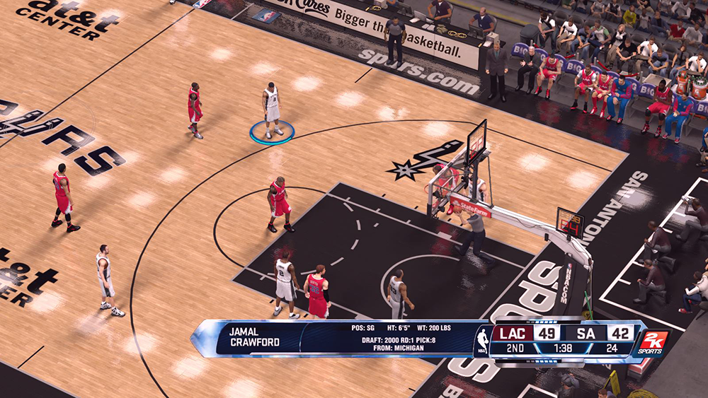 Next-Gen Scoreboard Mod for NBA 2K14 PC