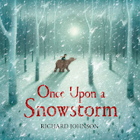 once upon a snowstorm by richard johnson cover