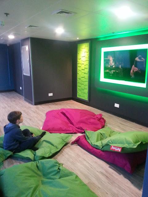 Wightlink Ferry Cinema