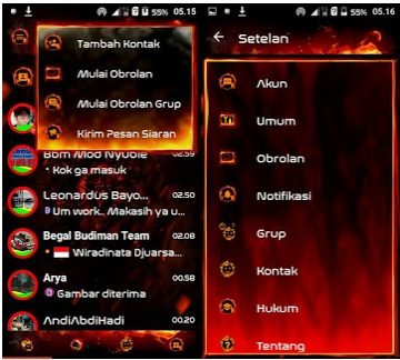 Droid Chat! v11.0.8 Legend of Fire