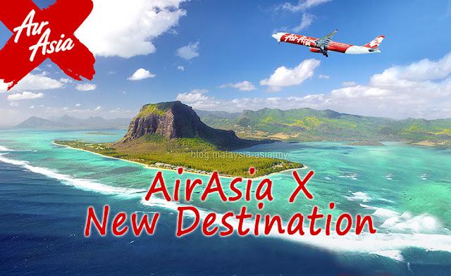 AirAsia X New Destination