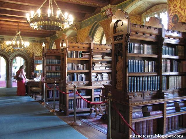 Кардиффский замок - библиотека