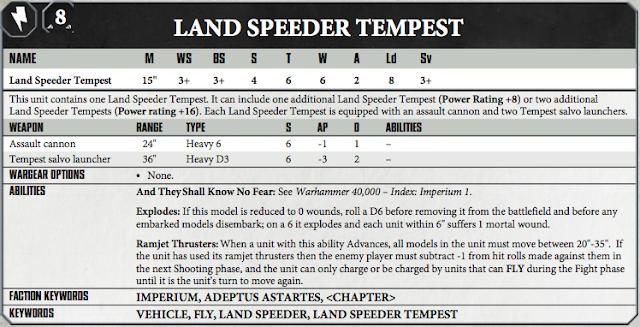 Land Speeder Tempest