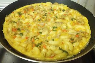 macaroni chicken cake macaroni pola pasta recipes cake recipe ayeshas kitchen