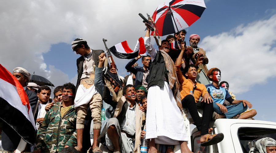 Massive Protests In Yemen Against Saudi-led Airstrikes