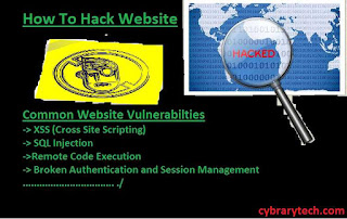 how to hack website