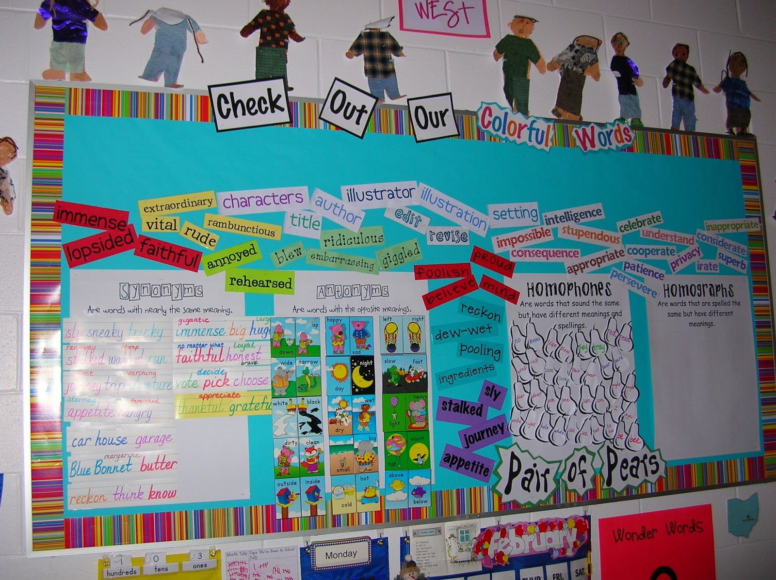 Two Can Do It Vocabulary Posters