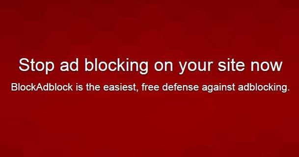 Script Block AdBlocker: Aplikasi dan Cara Memasangnya di Blog