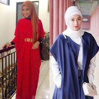 15 Busana Muslim Artis Model Dan Tutorial Hijab Ala Poppy Bunga