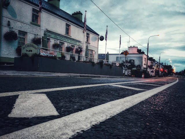 main street Moycullen, image of The Coach House
