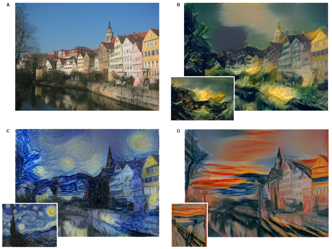 Research blog supercharging style transfer for Old deep house