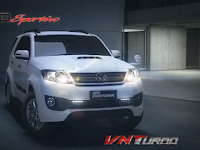 New Toyota Fortuner Makin Sporty