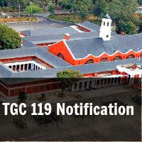 TGC 119 Notification