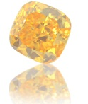 Treated Fancy Orange Diamond
