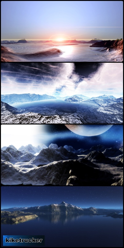 Wallpapers Paisajes 3D Dual Screen
