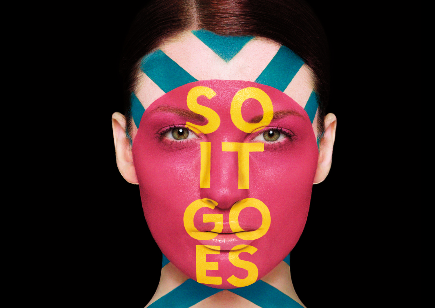 Doctor Ojiplático. Sagmeister & Walsh. Aizone. Photography. Body Painting