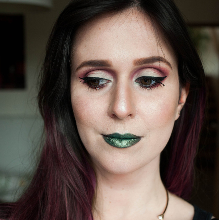 Guardians of the Galaxy vol 2 inspired makeup look