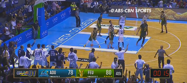 FEU def. Adamson, 88-85 in OT (REPLAY VIDEO) October 7 / UAAP Season 81