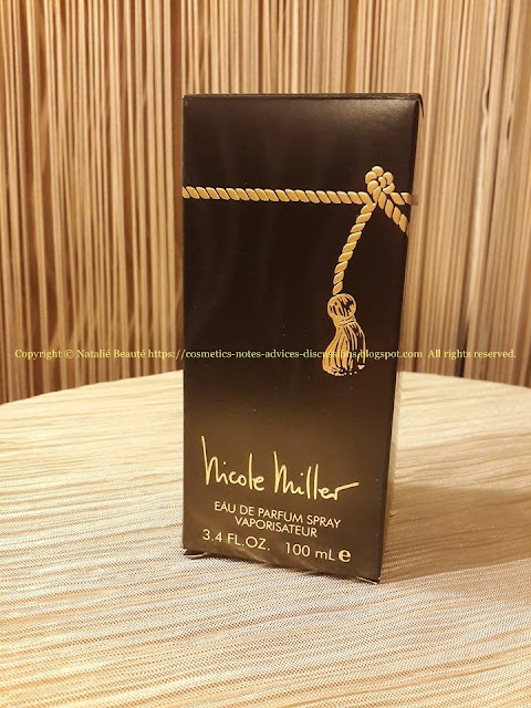 NICOLE MILLER by NICOLE MILLER PERSONAL PERFUME REVIEW AND PHOTOS NATALIE BEAUTE