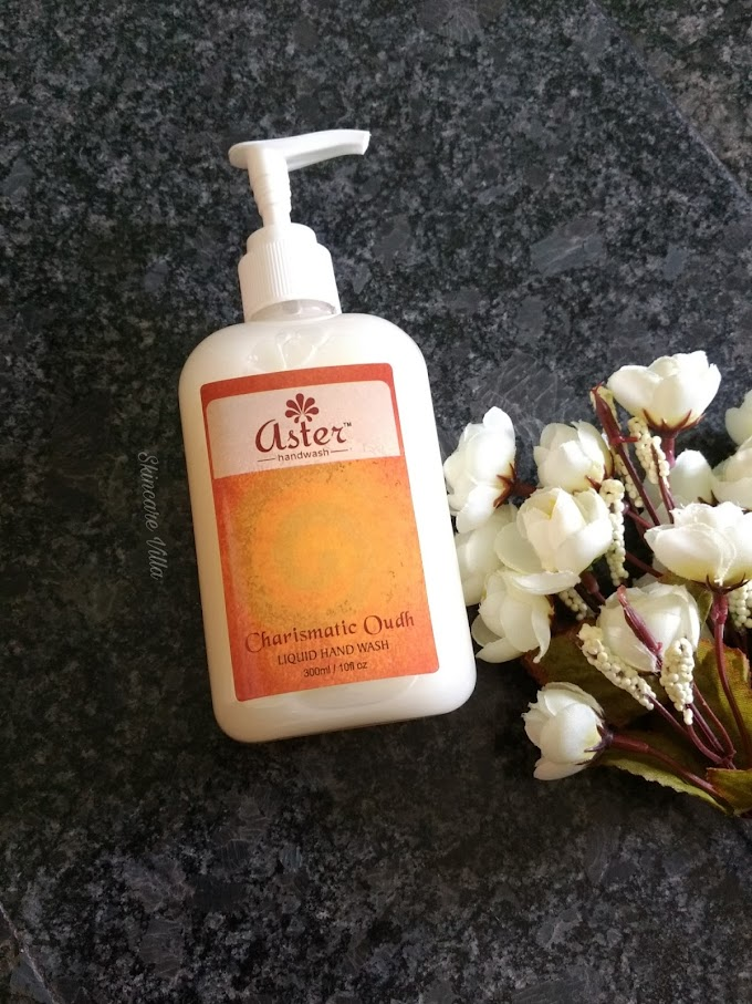Aster Charismatic Oudh Liquid Hand Wash Review