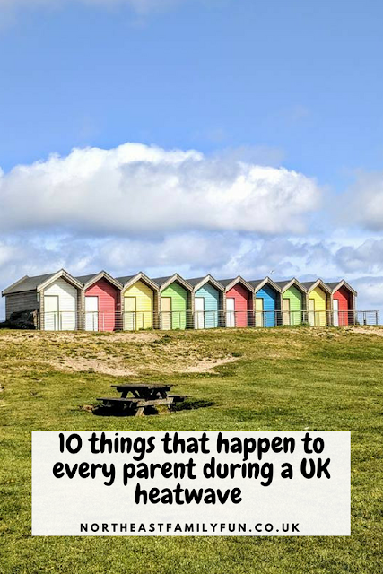 10 things that happen to every parent during a UK heatwave #heatwave #UK #Parenting