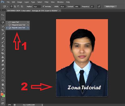 Tutorial Mengganti Warna Baju Menggunakan Photoshop