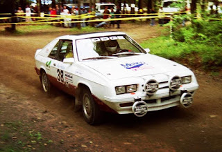 Dodge Shelby Charger 1984 Rally Car