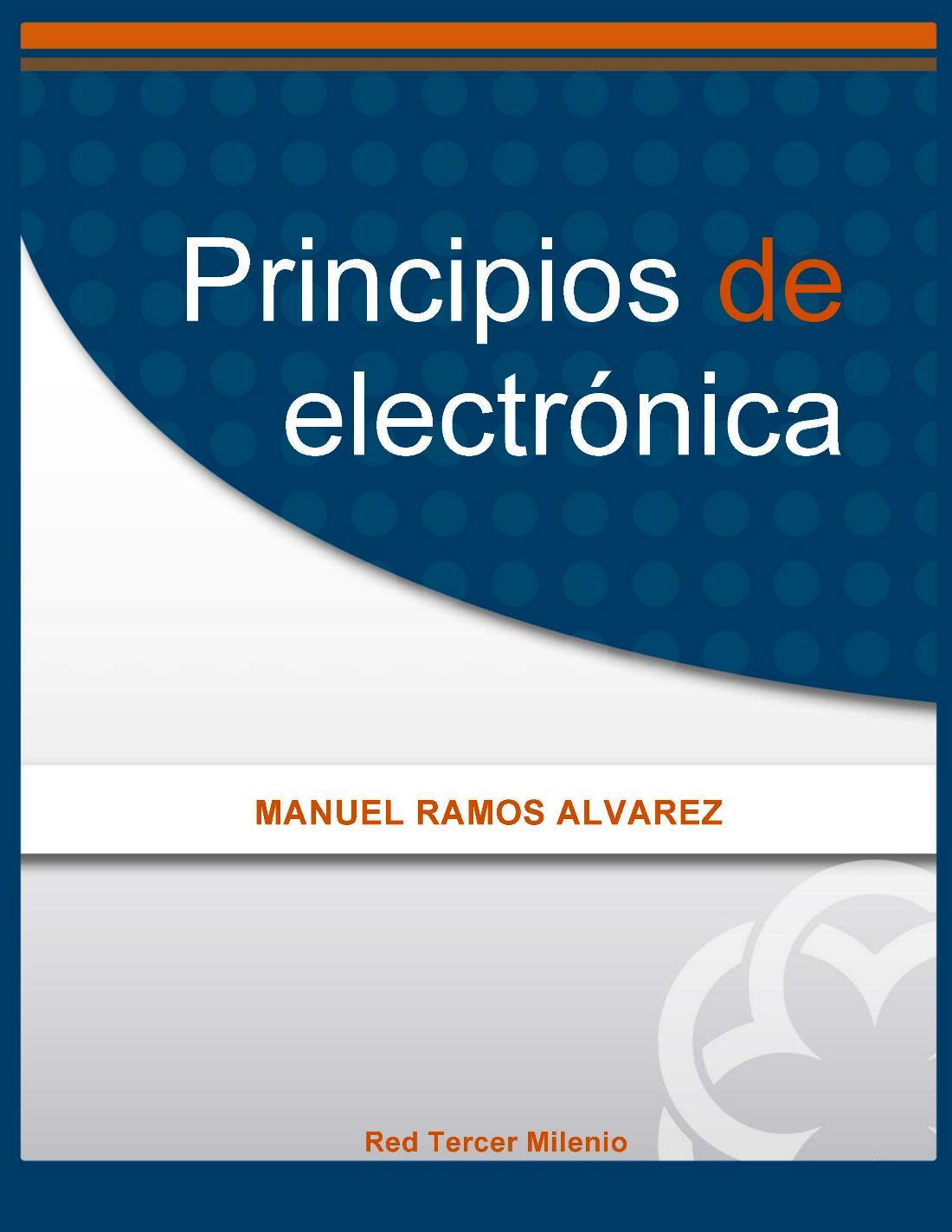 Principios de electrónica – Manuel Ramos Álvarez