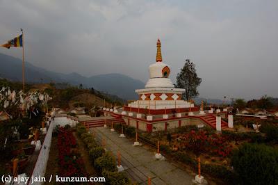 Buddhist Temple in Itanagar City