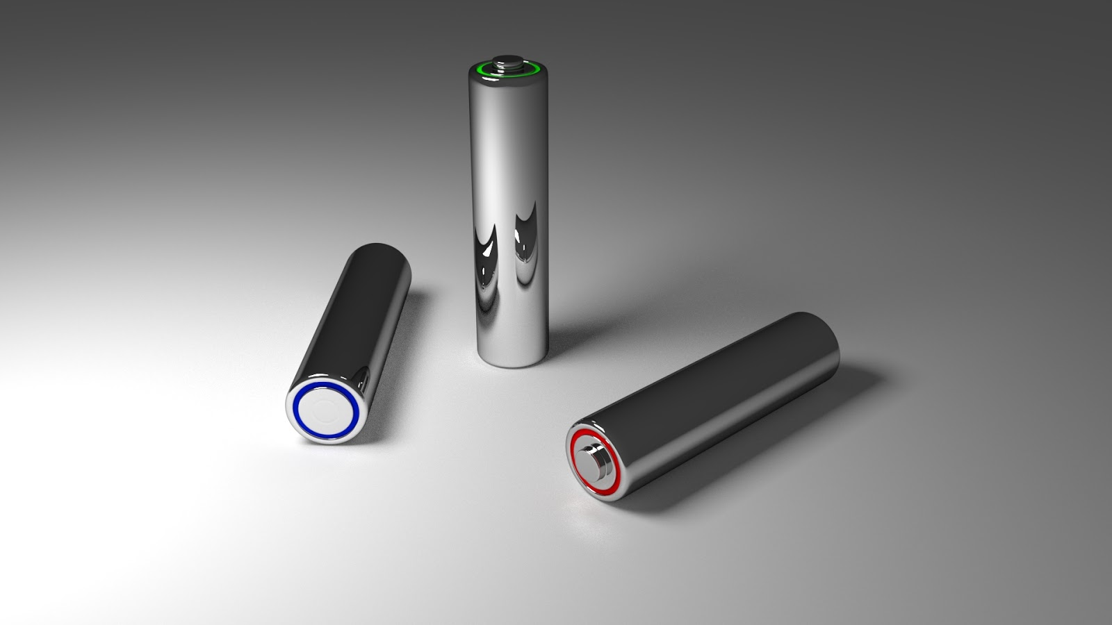 Free 3D Battery AA .blend file