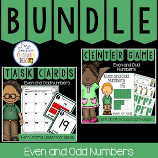 2nd Grade Go Math 1.1 Even or Odd Numbers Bundle