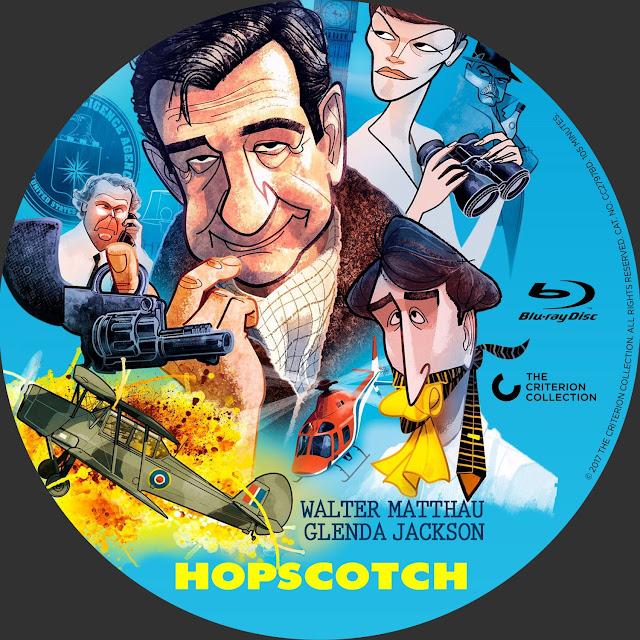 Hopscotch (1980) Bluray Label
