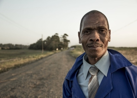 A picture of an African man.