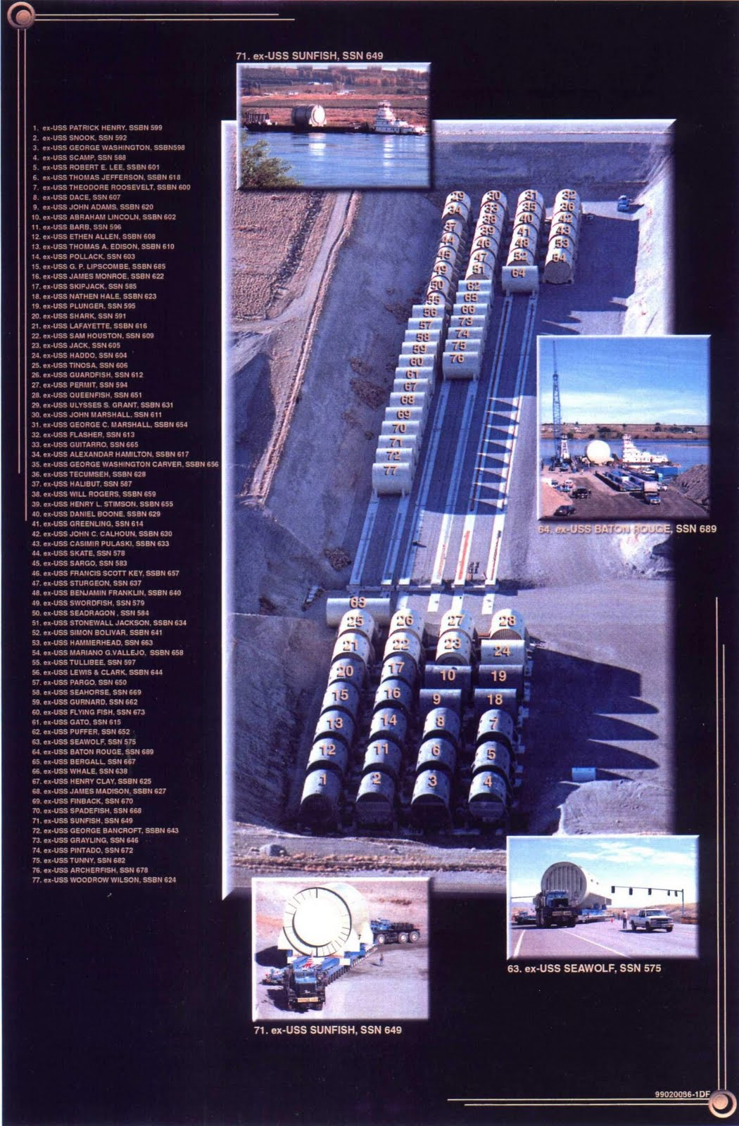 The Stupid Shall Be Punished: Hanford Submarine Reactor Compartment
