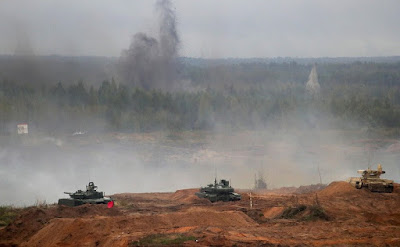 Zapad-2017 joint Russian-Belarusian strategic military exercises.