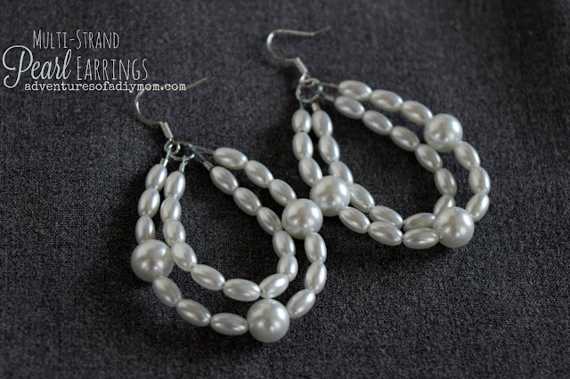 How to Make a Pearl Multi-strands Earrings