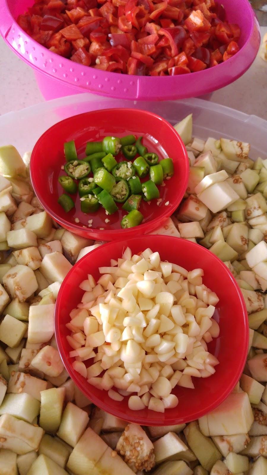 Patlıcan Tiridi Yapılışı